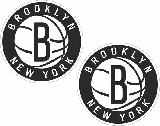 Picture of Brooklyn Nets Decals / Stickers