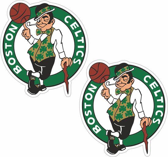 Picture of Boston Celtics Decals / Stickers