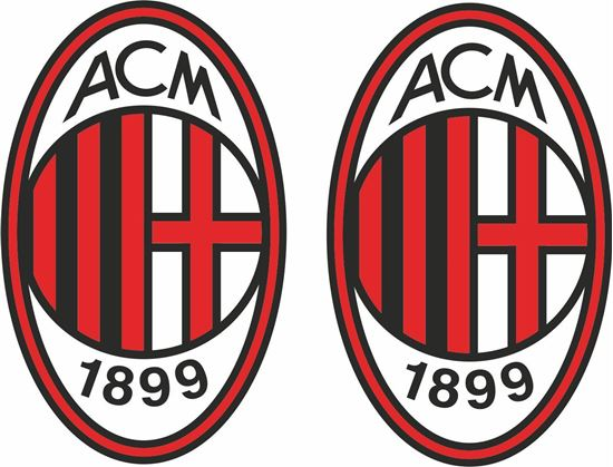 Picture of AC Millan FC Decals / Stickers
