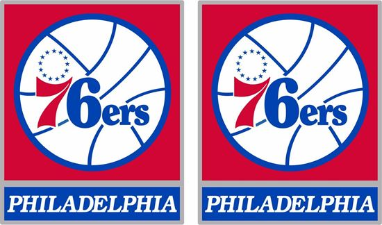Picture of Philadelphia 76ers Decals / Stickers