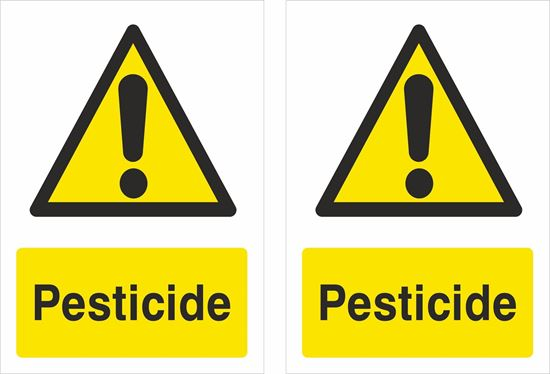 Picture of Pesticide Decals / Stickers