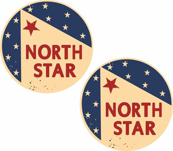 Picture of North Star Decals / Stickers