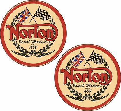 Picture of Norton Decals / Stickers