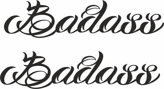 Picture of Badass Decals / Stickers
