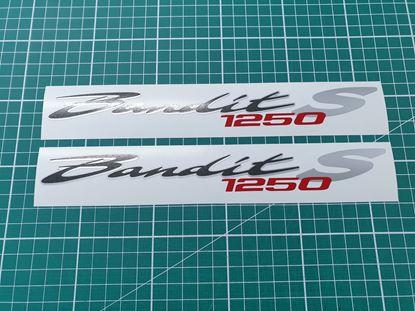 Picture of Suzuki Bandit 1250S replacement Decals / Stickers