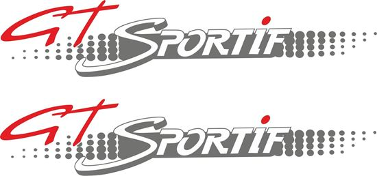 Picture of Citroen AX GT Sportif replacement Decals / Stickers