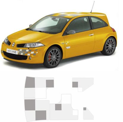 Picture of Renault Megane R26 230 F1 Team replacement roof Decals / Stickers