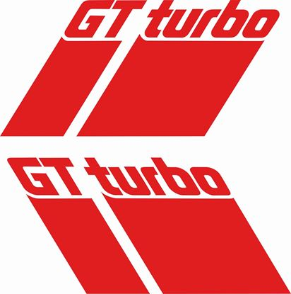 Picture of Renault MK2 Phase 2 GT Turbo lower side Decals / Stickers