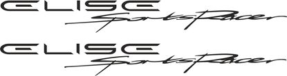 Picture of Lotus Elise S2 Sports Racer  Decals / Stickers