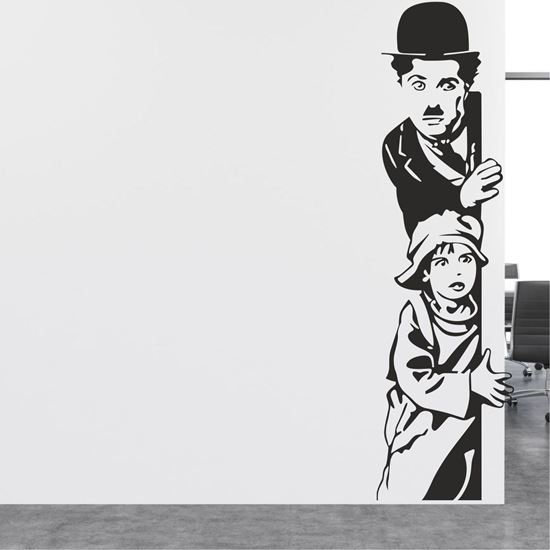 Picture of Charlie Chaplin Wall Art sticker