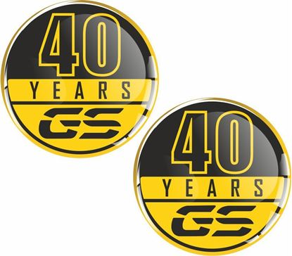 Picture of 40 Years GS 50mm Gel Badges