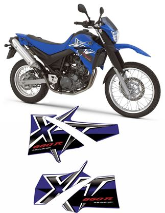 Picture of Yamaha XT660R 2009 replacement Decals / Stickers