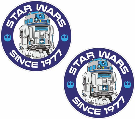 Picture of Star Wars Since 1977 Decals / Stickers