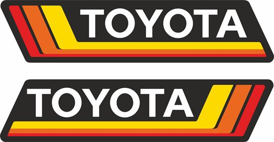 Picture of Toyota Decals / Stickers