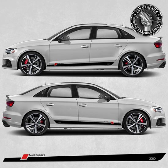 "Picture of A3 ""Audi Sport"" side Stripes"