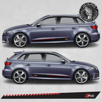 """Picture of A3 """"RS"""" side Stripes"""