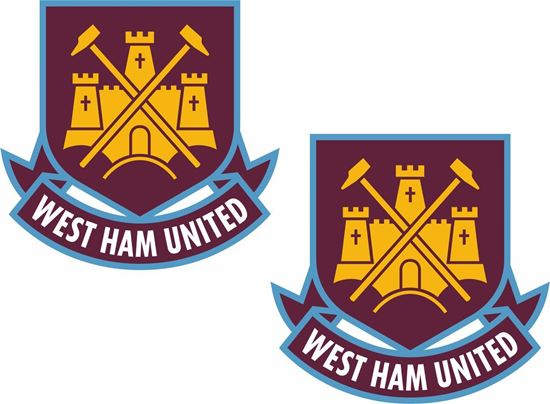 Picture of West Ham United Decals / Stickers