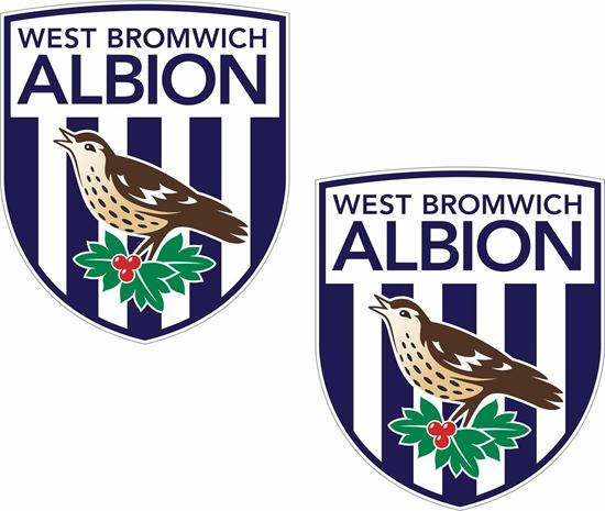 Picture of West Bromwich Albion Decals / Stickers