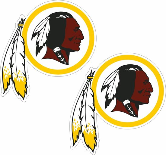 Picture of Washington Redskins Decals / Stickers