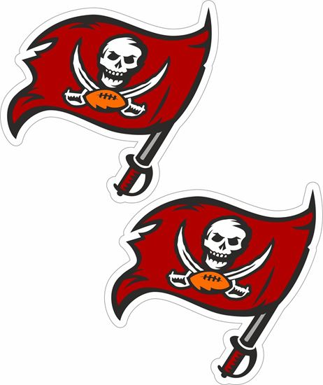 Picture of Tampa Bay Buccaneers Decals / Stickers