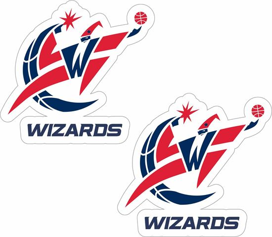 Picture of Washington Wizards Decals / Stickers