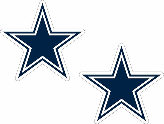 Picture of Dallas Cowboys Decals / Stickers