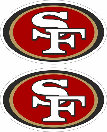 Picture of San Francisco 49ers Decals / Stickers