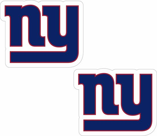 Picture of New York Giants Decals / Stickers