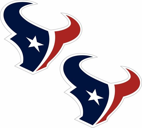 Picture of NFL Houston Decals / Stickers
