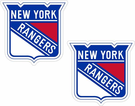 Picture of New York Rangers Decals / Stickers