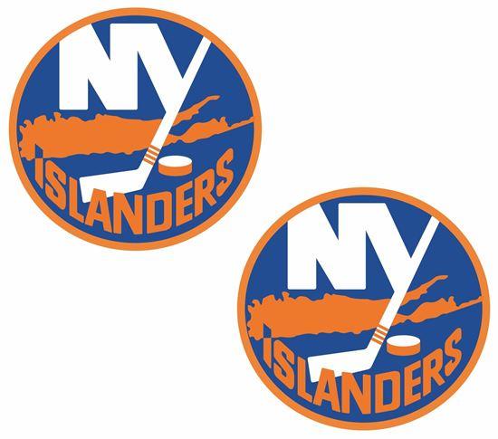 Picture of New York Islanders Decals / Stickers