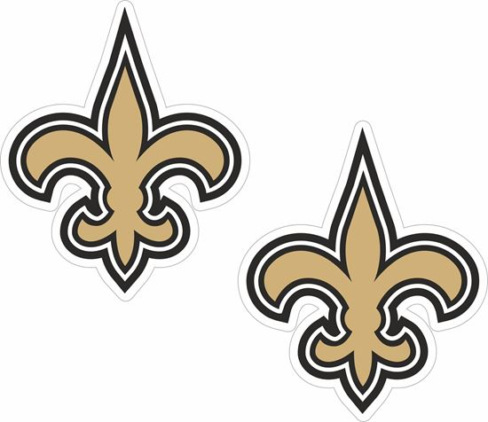 Picture of New Orleans Saints Decals / Stickers