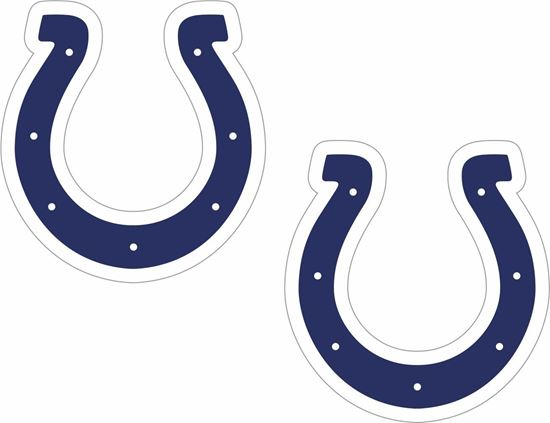 Picture of Indianapolis Colts Stickers / Decals