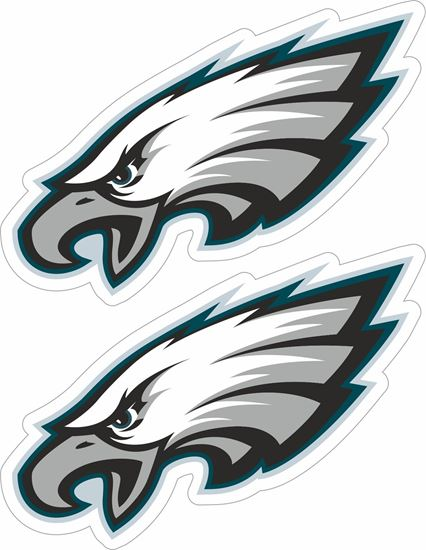 Picture of Philadelphia Eagles Decals / Stickers