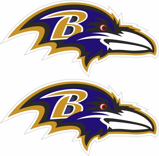 Picture of Baltimore Ravens Decals / Stickers