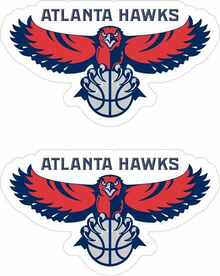 Picture of Atlanta Hawks Decals / Stickers
