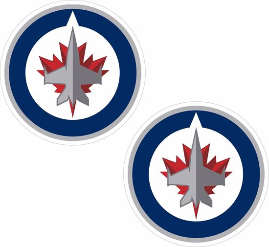 Picture of Winnipeg Jets Decals / Stickers