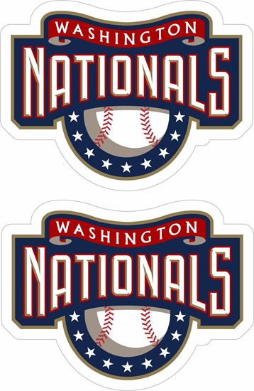 Picture of Washington Nationals Decals / Stickers