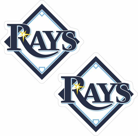 Picture of Tampa Bay Rays Decals / Stickers