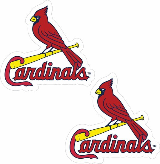 Picture of St Louis Cardinals Decals / Stickers