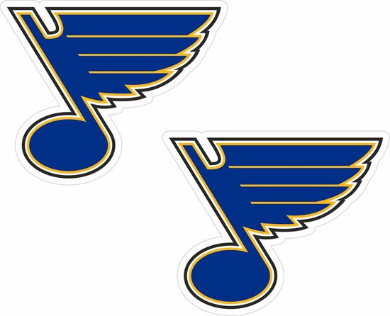 Picture of St Louis Bay Blues  Decals / Stickers
