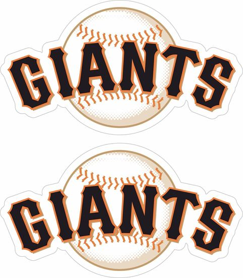 Picture of San Francisco Giants Decals / Stickers