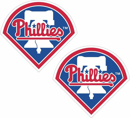 Picture of Philadelphia Phillies Decals / Stickers