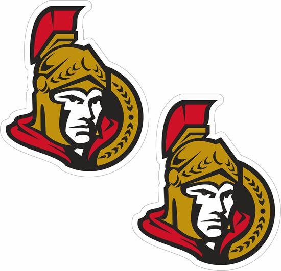Picture of Ottawa Senators Decals / Stickers