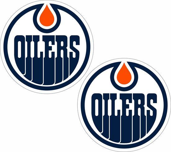 Picture of Edmonton Oilers Decals / Stickers
