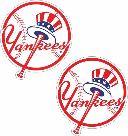 Picture of New York Yankees Decals / Stickers