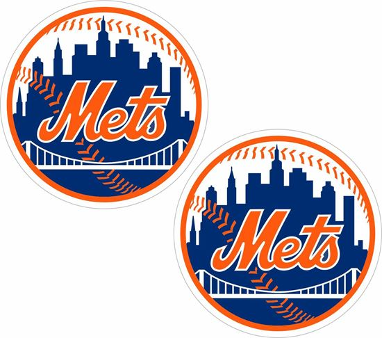 Picture of New York Mets Decals / Stickers