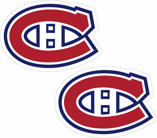Picture of Montreal Canadians Stickers / Decals