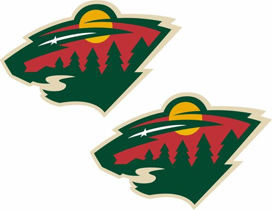 Picture of Minnesota Wild Stickers / Decals
