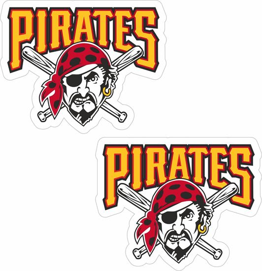 Picture of Pittsburgh Pirates Decals / Stickers